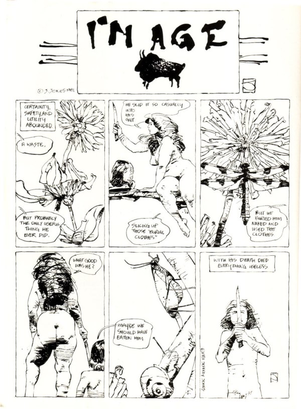 ABOVE: First published in Heavy Metal, vol. 5, no. 8, Nov. 1981