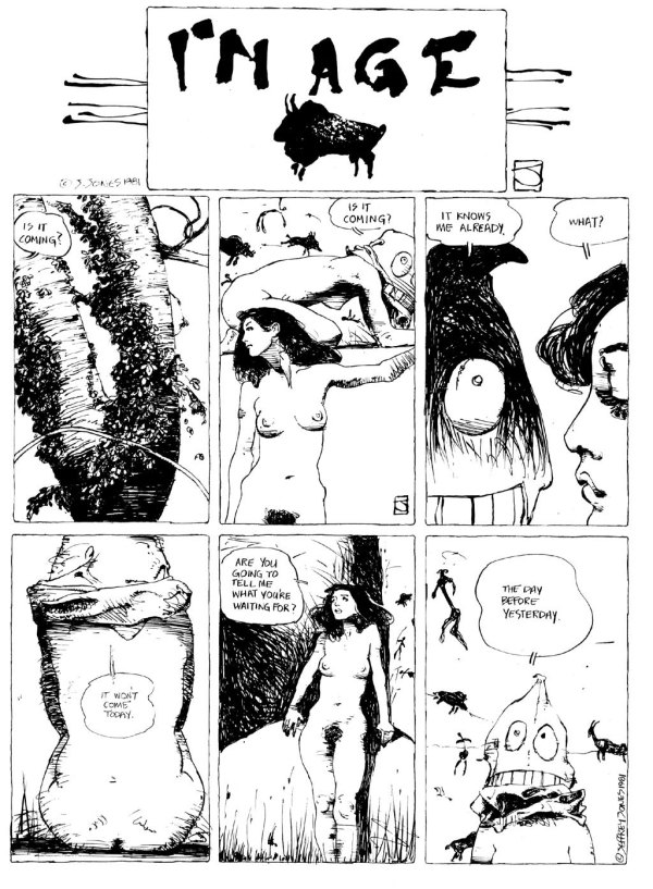 ABOVE: First published in Heavy Metal, vol. 5, no. 9, Dec. 1981