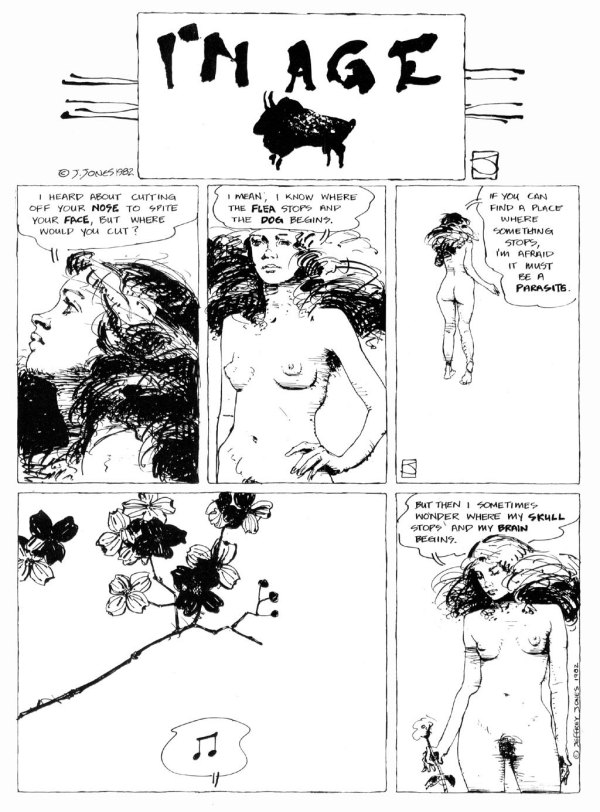ABOVE: First published in Heavy Metal, vol. 6, no. 5, Aug. 1982