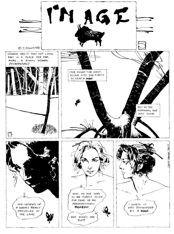 ABOVE: Originally published in Heavy Metal, vol. 6, no. 7, Oct. 1982