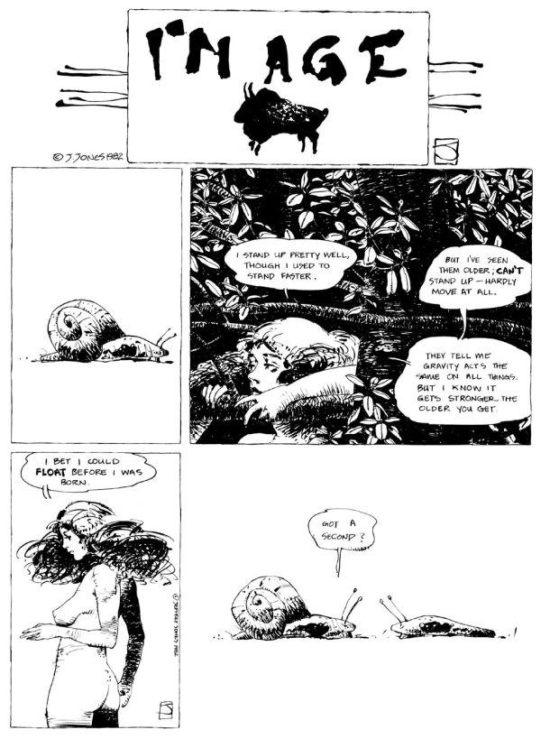 ABOVE: Originally published in Heavy Metal, vol. 6, no. 8, Nov. 1982
