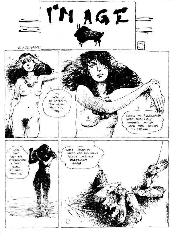 ABOVE: Originally published in Heavy Metal, vol. 6, no. 9, Dec. 1982