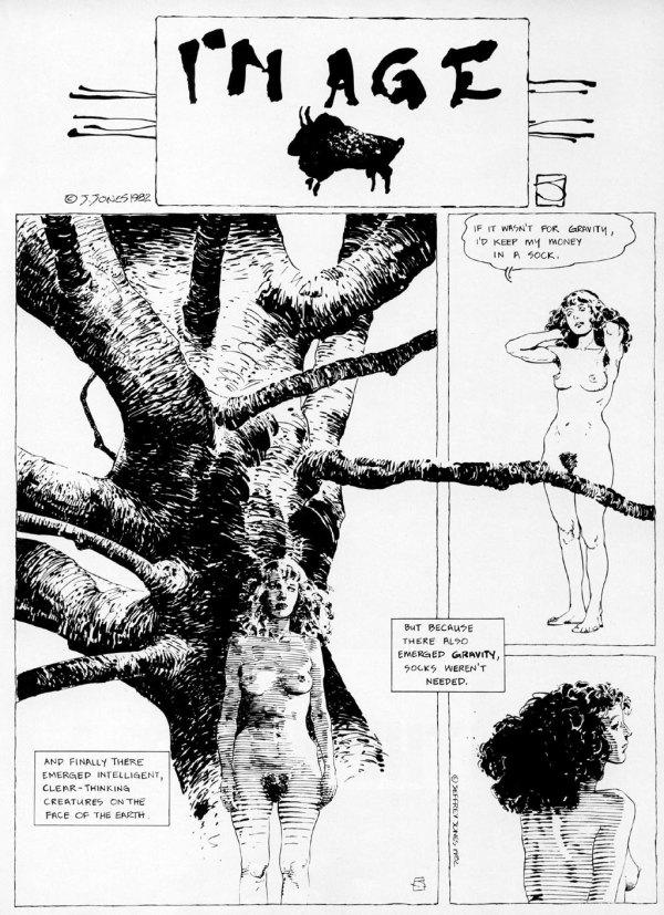 ABOVE: Originally published in Heavy Metal, vol. 6, no. 11, Feb. 1983