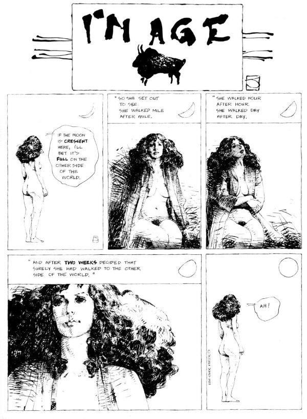 ABOVE: Originally published in Heavy Metal, vol. 6, no. 12, Mar. 1983