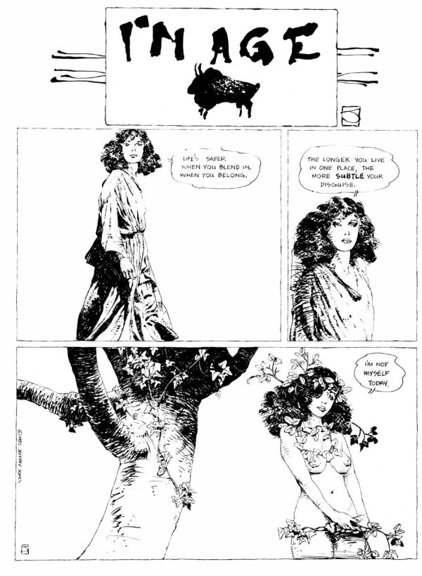 ABOVE: First published in Heavy Metal, vol. 7, no. 1, Apr. 1983