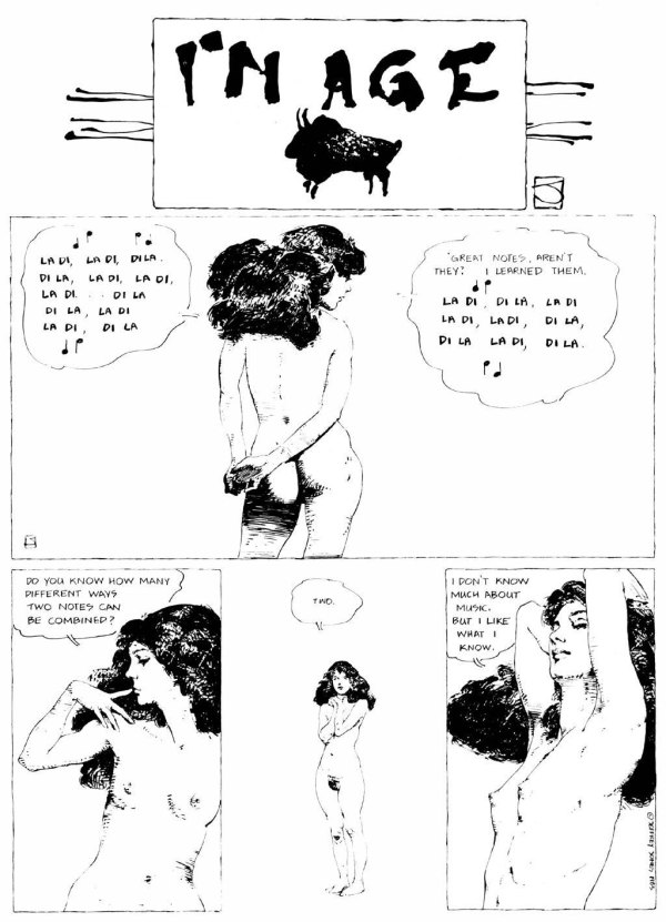 ABOVE: First published in Heavy Metal, vol. 7, no. 2, May 1983