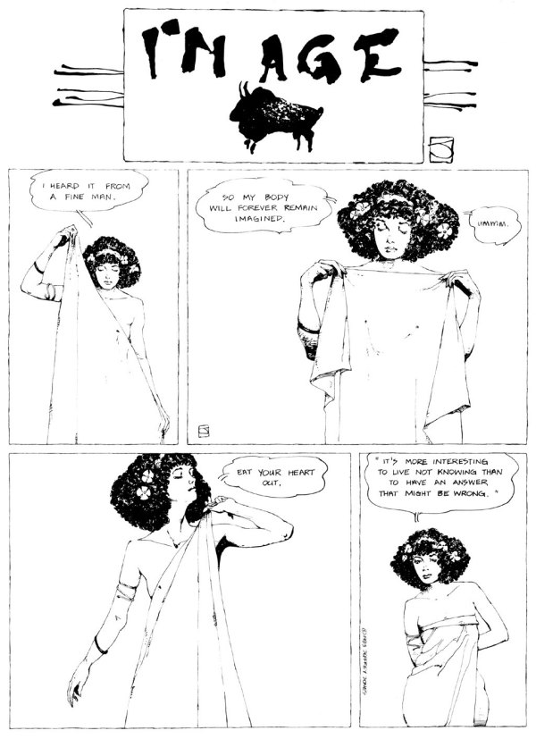 ABOVE: First published in Heavy Metal, vol. 7, no. 4, July 1983