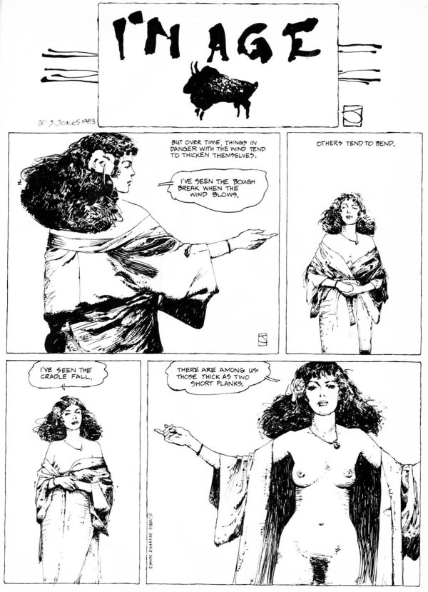 ABOVE: First published in Heavy Metal, vol. 7, no. 6, Sept. 1983