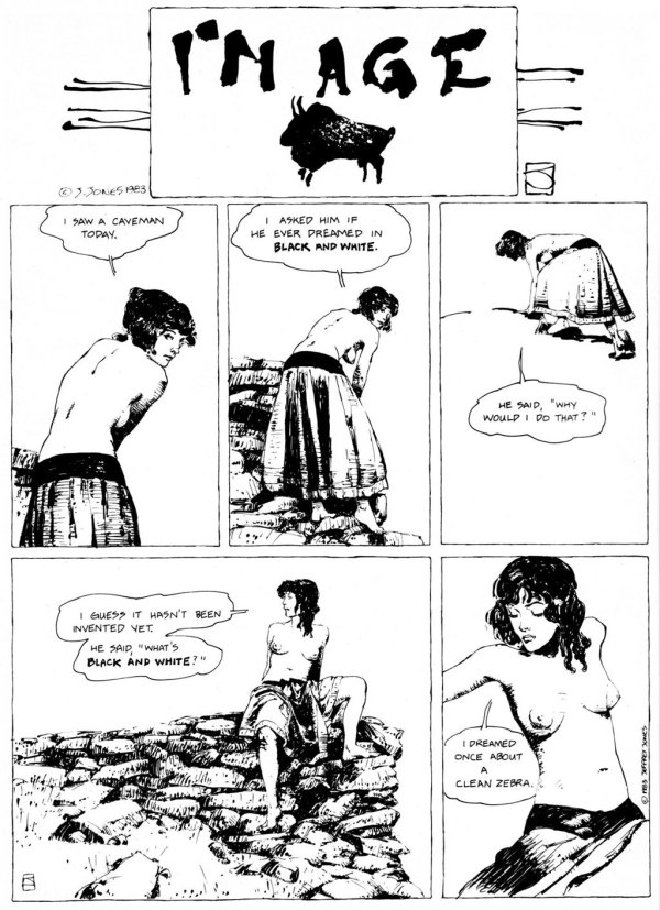 ABOVE: First published in Heavy Metal, vol. 7, no. 7, Oct. 1983