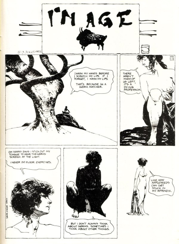 ABOVE: First published in Heavy Metal, vol. 7, no. 10, Jan. 1984