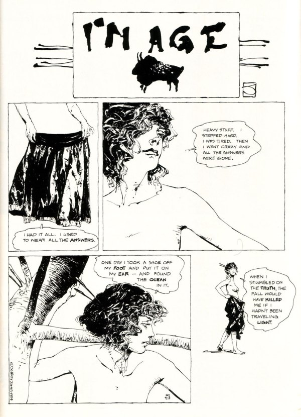 ABOVE: First published in Heavy Metal, vol. 7, no. 12, Mar. 1984