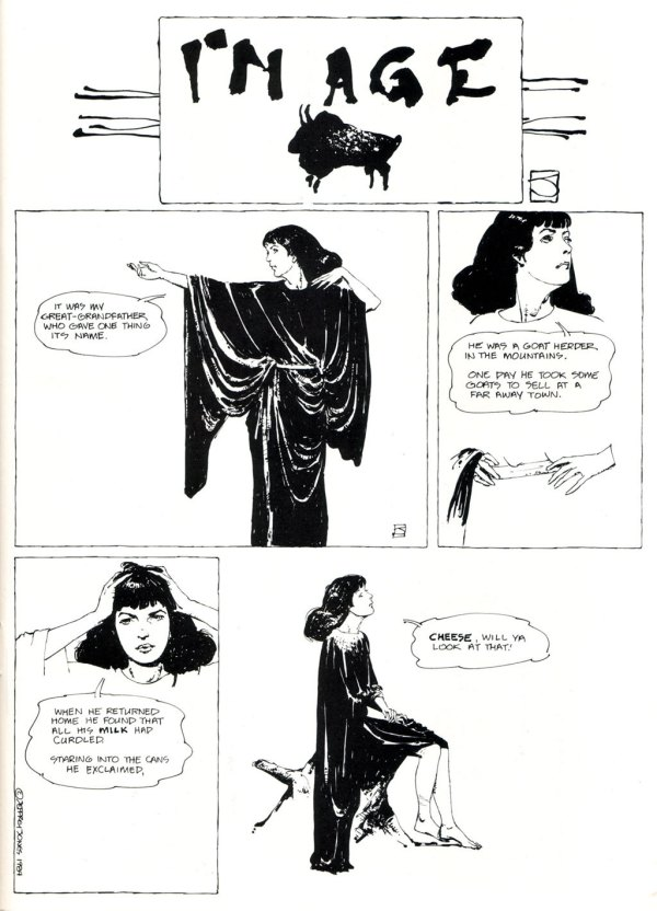 ABOVE: First published in Heavy Metal, vol. 8, no. 3, June 1984