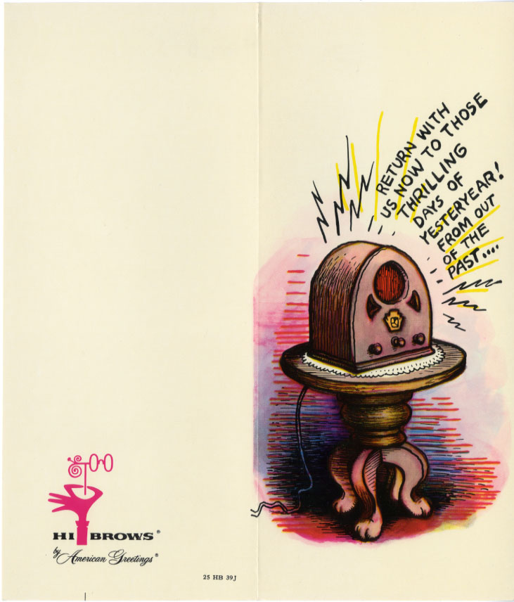 Look here greeting cards by r crumb ragged claws network share this m4hsunfo
