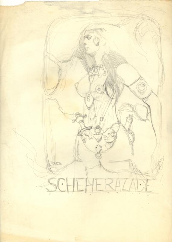 jeffrey-jones_pencil-prelim_scheherazade
