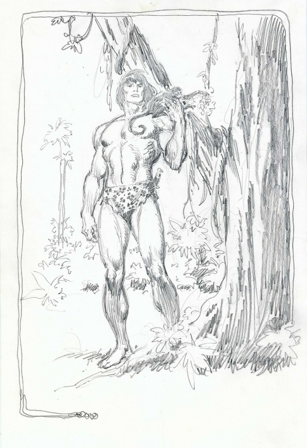 buscema_tarzan_pencil_11.5x17.5in