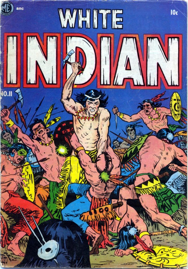 frank-frazetta_white-indian-n11-1953