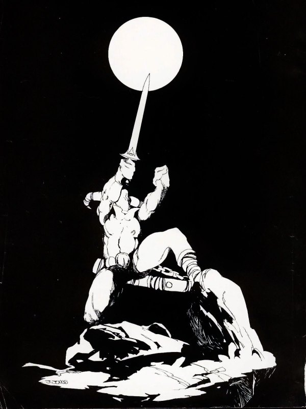 jeffrey-jones_frontispiece_savage-sword_v1n5_Apr-1975_p2