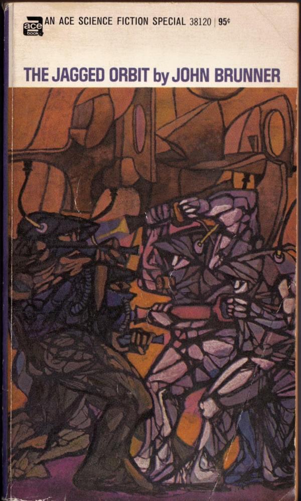 leo-diane-dillon_the-jagged-orbit_ny-ace-1969
