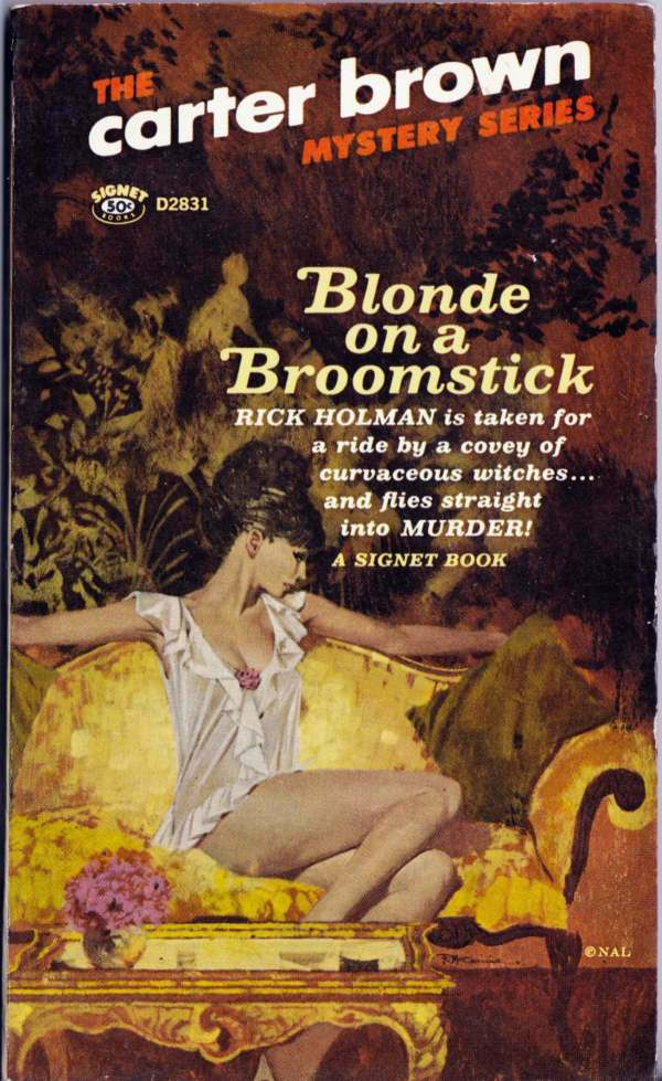 robert-mcginnis_blonde-on-a-broomstick_signet-1966