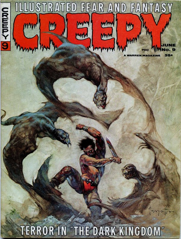 frank-frazetta_the-dark-kingdom_creepy-v1n9-june1966