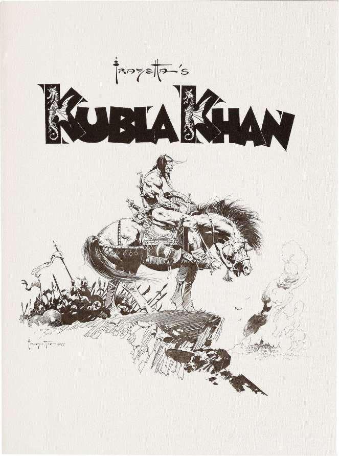 frank-frazetta_cover_kubla-khan-portfolio