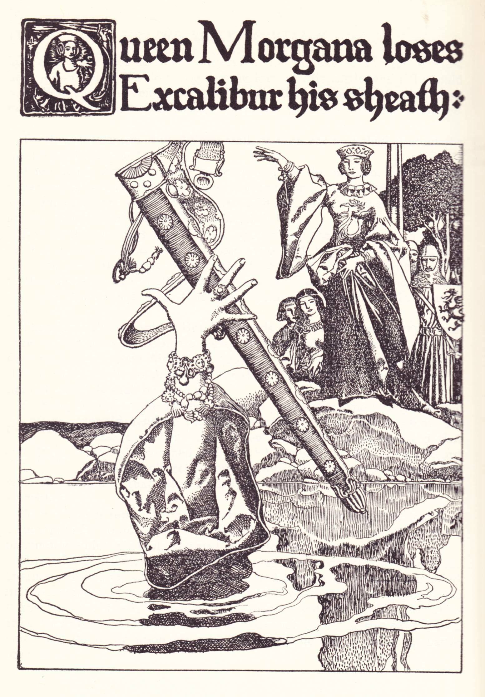 look here howard pyle u0027s u201cthe story of king arthur and his knights