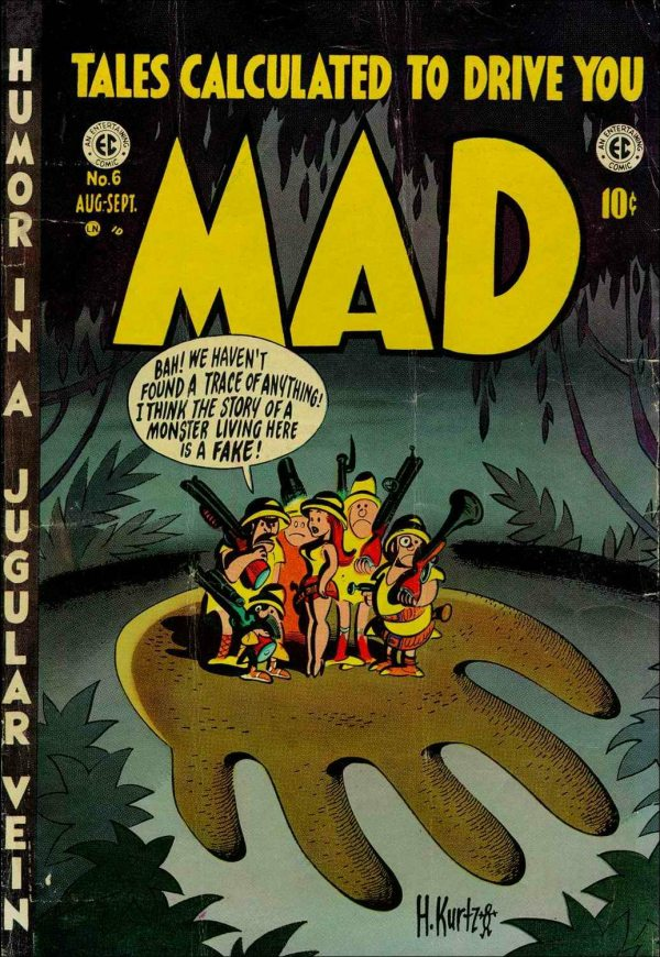 harvey-kurtzman_cover_mad-n6_aug-sept-1953