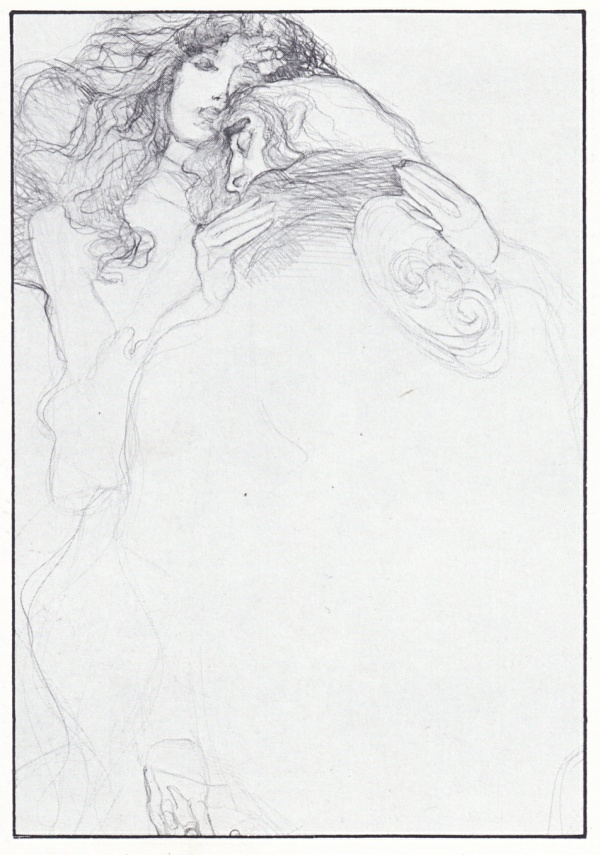 jeffrey-jones_pencil-drawing_yesterdays-lily_p74
