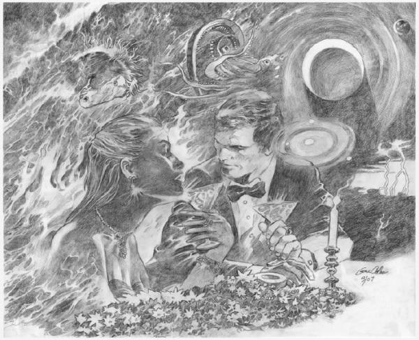 gene-colan_dining-on-twilight_pencil_2007
