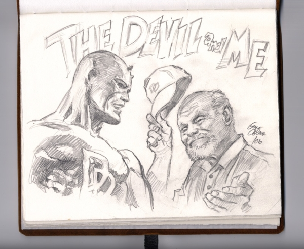gene-colan_the-devil-and-me