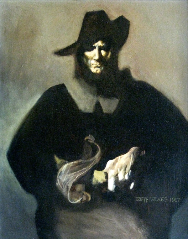 jeffrey-jones_solomon-kane_1967_oil-on-canvas