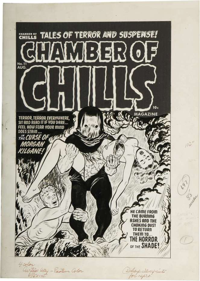 lee-elias_cover-art_chamber-of-chills-n11_aug1952