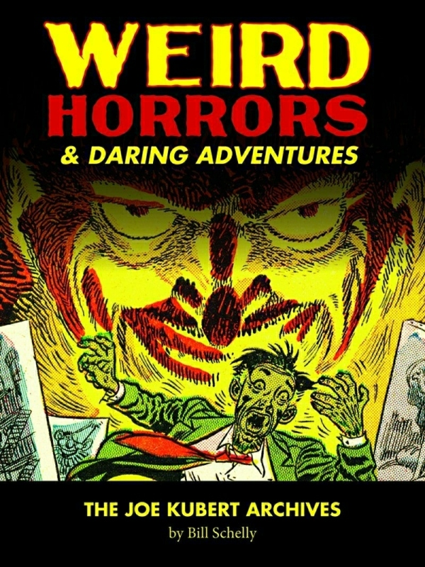 joe-kubert_weird-horrors-and-daring-adventures_fantagraphics-2012