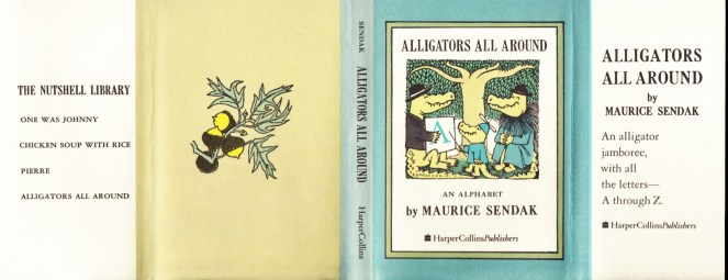 maurice-sendak_nutshell-library-alligators-all-around_harpercollins-1962