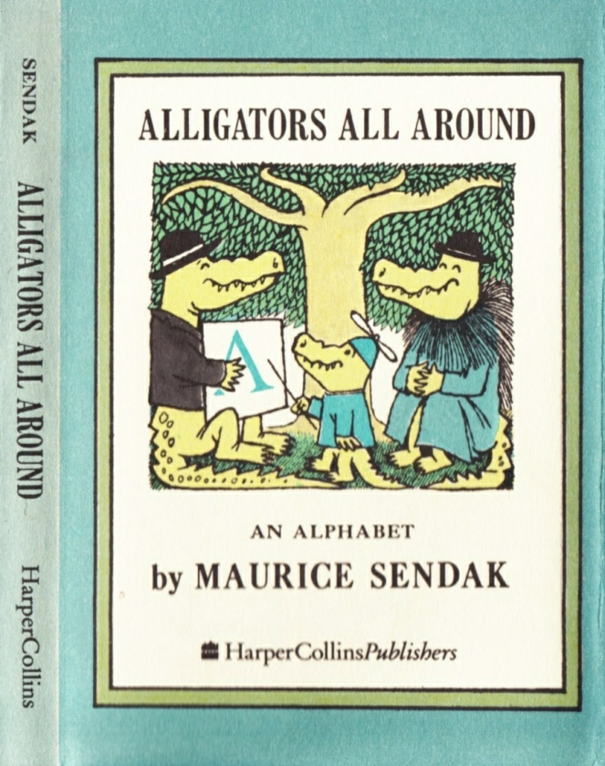 maurice-sendak_nutshell-library-alligators-all-around_harpercollins-1962_front