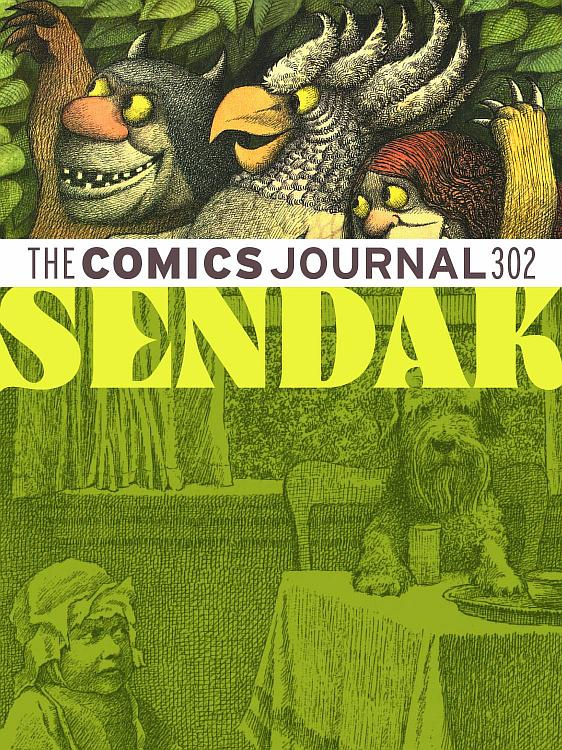 maurice-sendak_the-comics-journal-n302