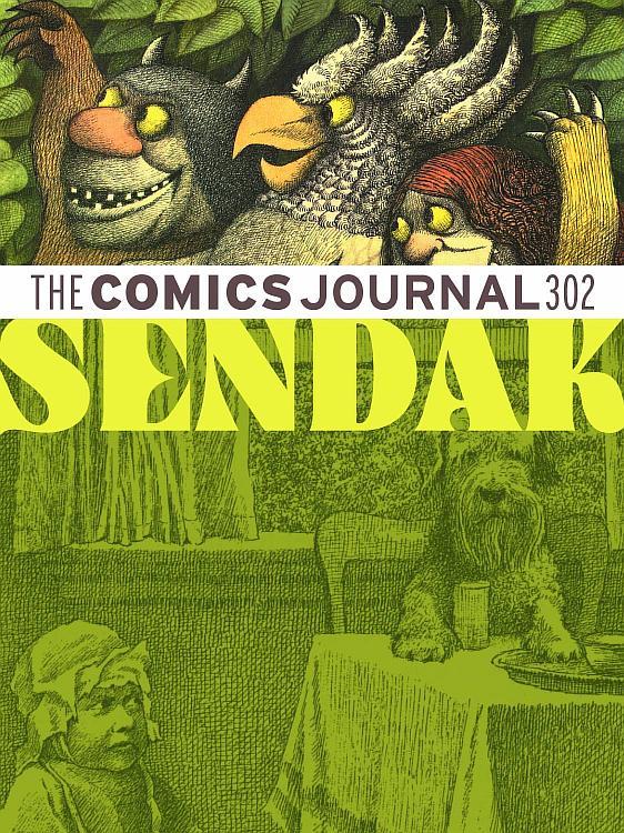 maurice-sendak_the-comics-journal-n302
