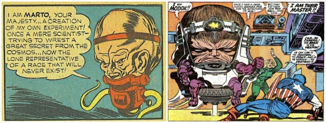 simon-and-kirby-marto-1940_lee-and-kirby-modok-1967