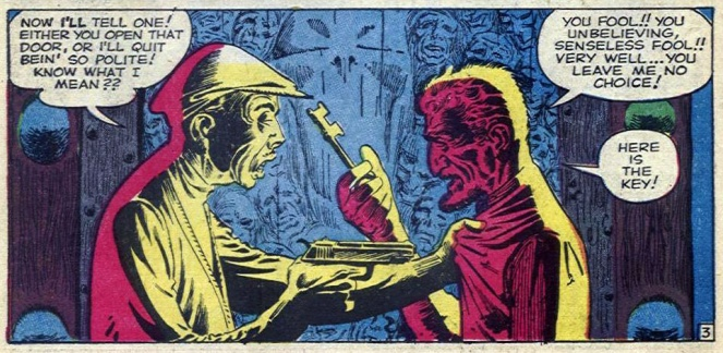 steve-ditko_behind-my-door-waits-medusa_p3of5panel4_tales-of-suspense-n10_1960
