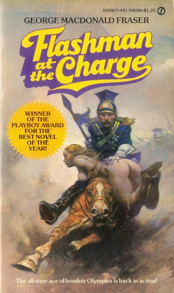 frank-frazetta_flashman-at-the-charge_ny-signet-1973