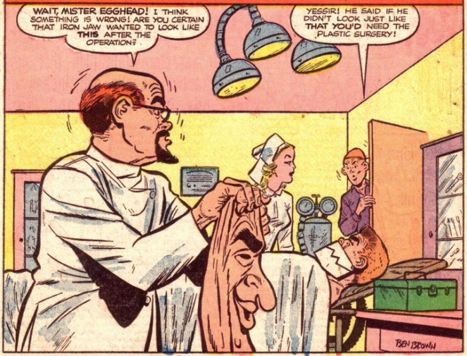 ben-brown_sniffer-and-iron-jaw_p1of6_panel1_boy-comics-n99_mar1954