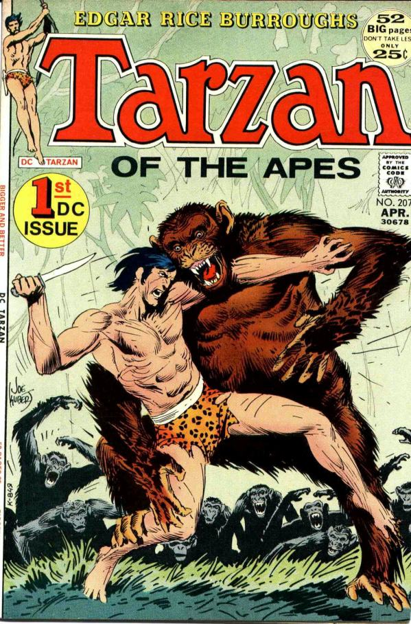 joe-kubert_tarzan-n207_april1972