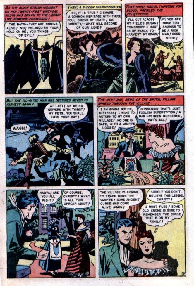 louis-zansky_vampire-bride_p2of7_web-of-mystery-n9_may1952