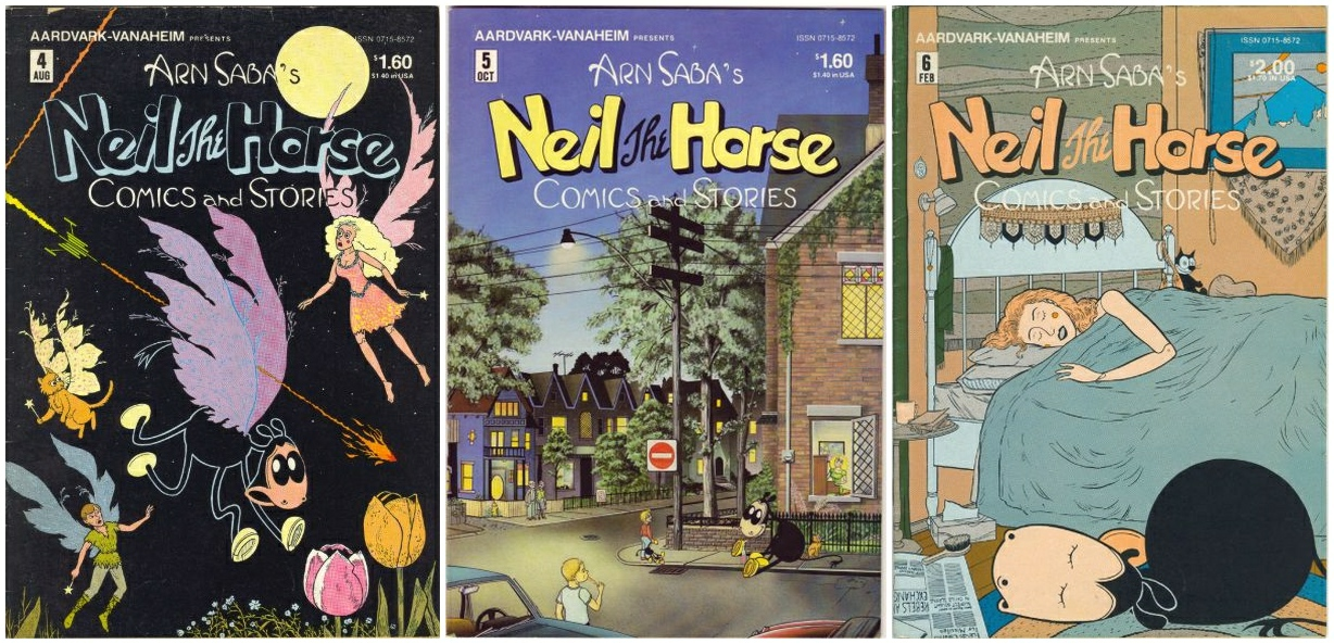 "Heads Up: The ""definitive archival edition"" of NEIL THE HORSE ..."