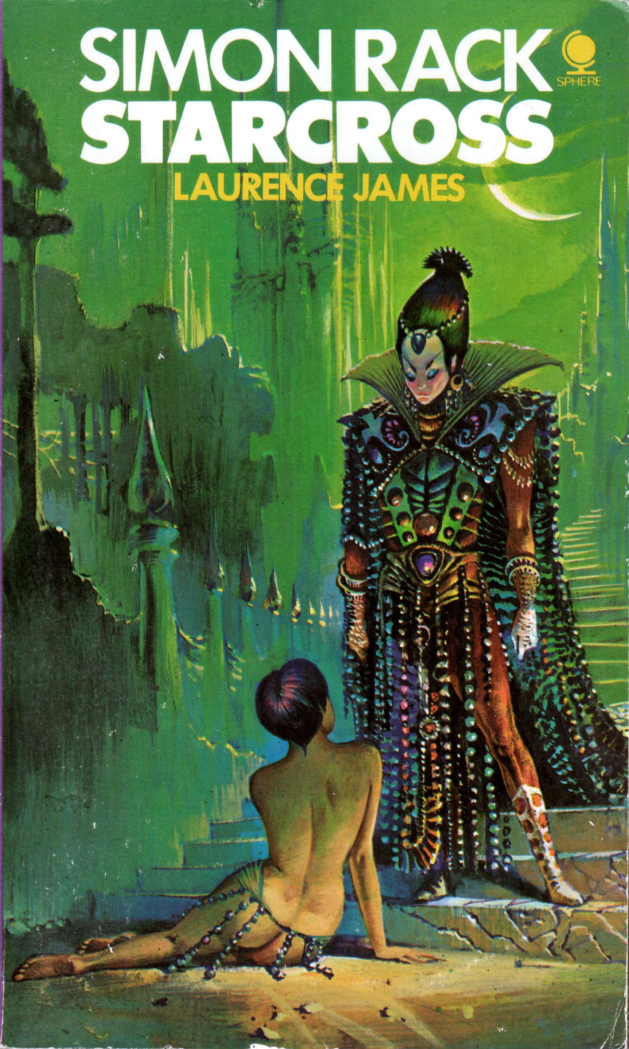 Book Cover Art : Look here five paperback covers with art by bruce