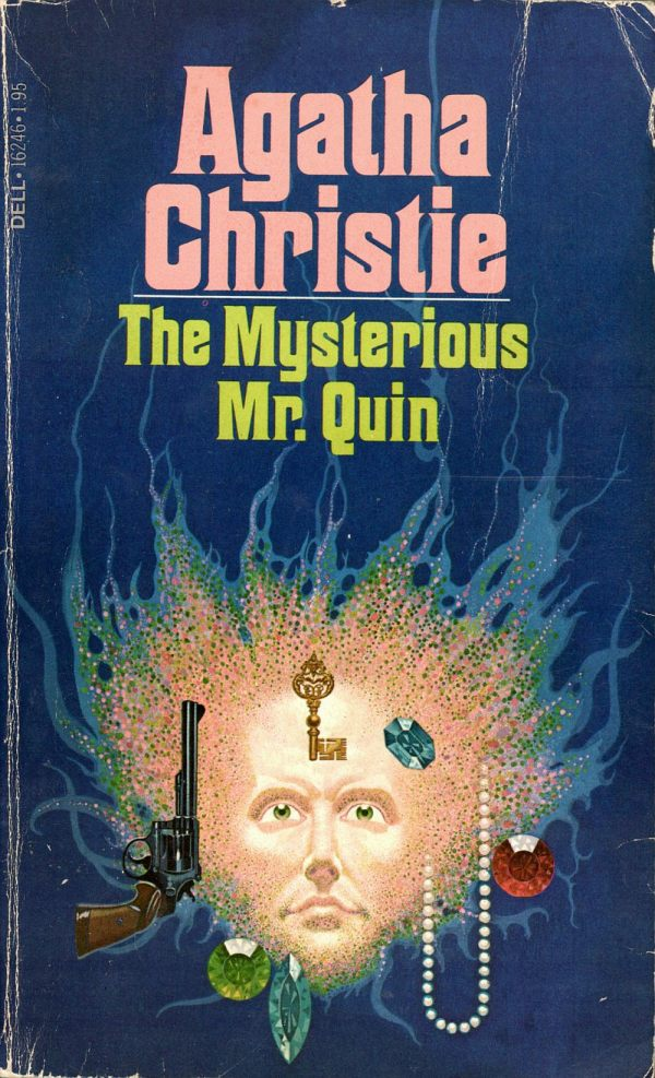 ABOVE: Agatha Christie, The Mysterious Mr. Quin  (NY: Dell, 1979), with cover art by William Teason.