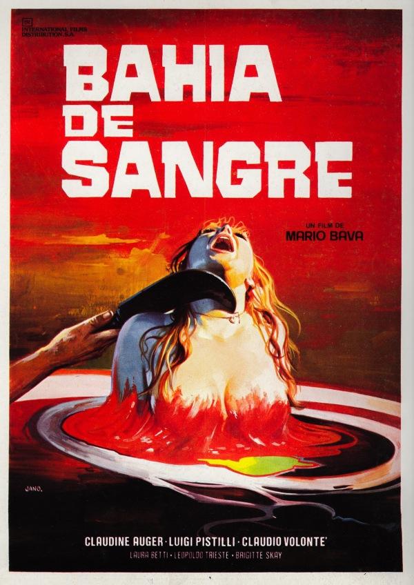ABOVE: Poster for Bahia De Sangre [Bay of Blood] (1971), with art by Francisco Fernández-Zarza Pérez (a.k.a. Jano).