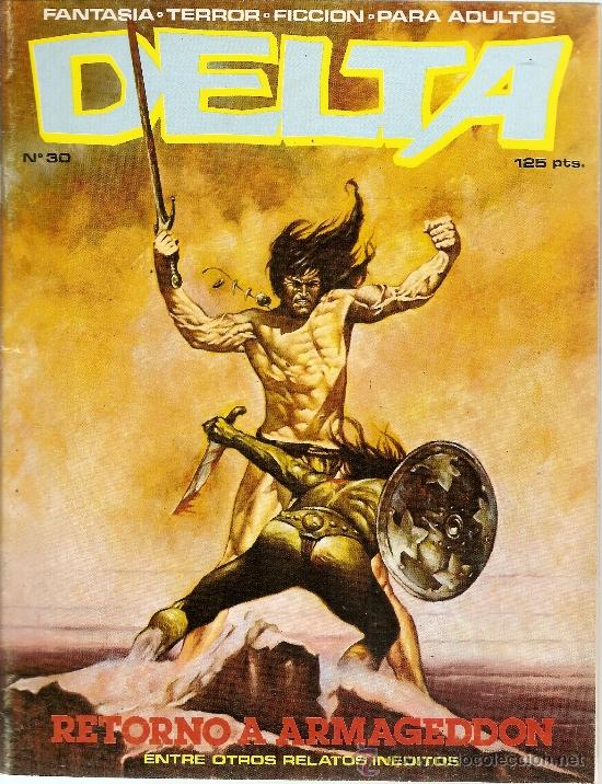 ABOVE: Delta #30, with cover art by Maren.